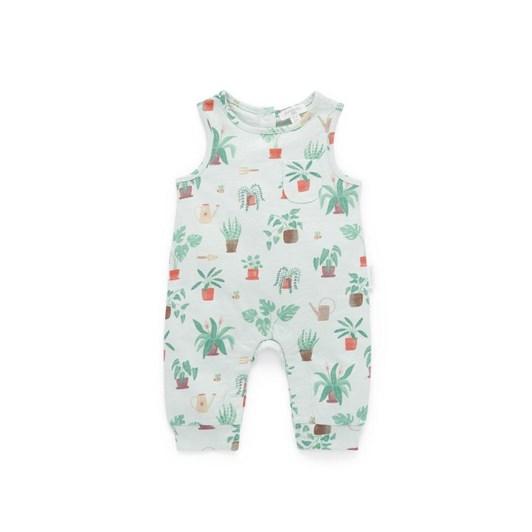 Purebaby Sleeveless Henley Growsuit
