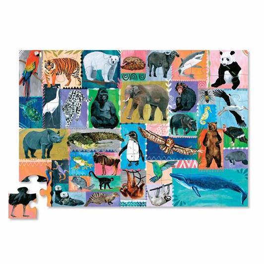Croc Creek Memory Game & 48Pc Puzzle Endangered
