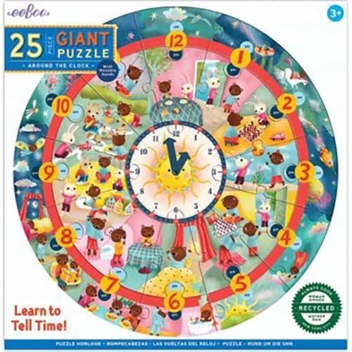 Eeboo Around The Clock Puzzle