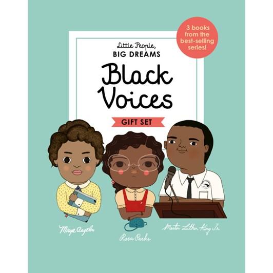 Little People, BIG DREAMS - Black Voices Set