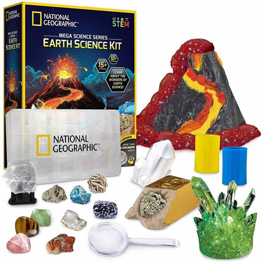 National Geographic Science Explorations: Mega Earth Science Kit