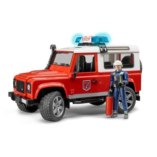 Bruder Land Rover Fire Vehicle