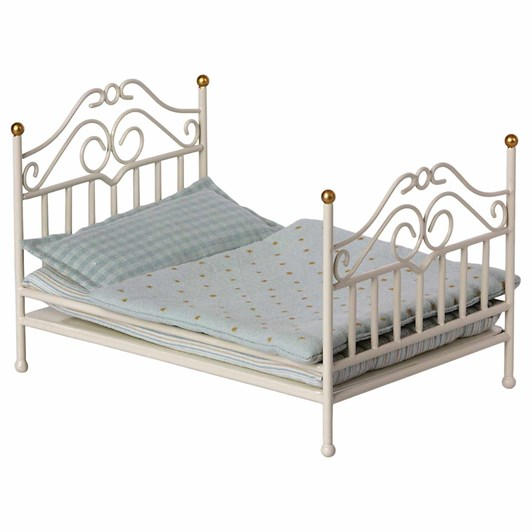 Maileg Vintage Bed Micro Off White