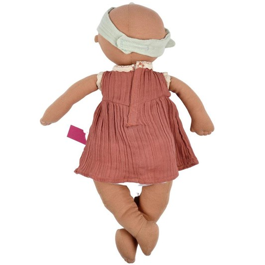 Bonikka Baby Aria - 100% Organic Soft Doll 43cm (Blue Eyes)