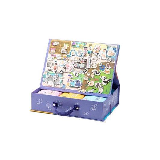 MierEdu Puzzle & Draw Magnetic Kit - Party