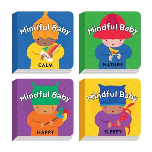 Mudpuppy Mindful Baby Board Book Set