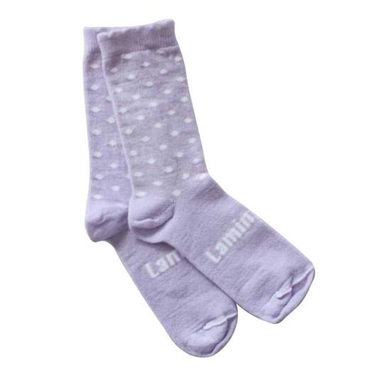 Lamington Socks Violet Crew Socks 2-4Y