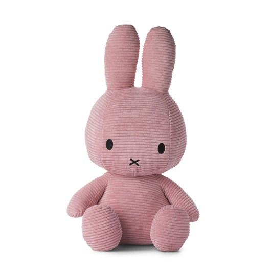 Miffy Sitting Corduroy Pink 50cm