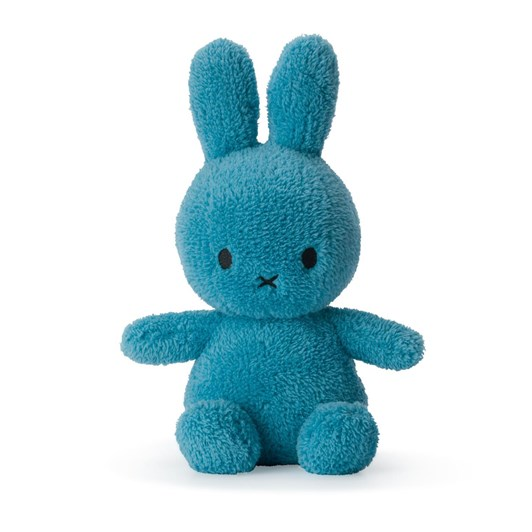 Miffy Sitting Terry Ocean Blue 23cm