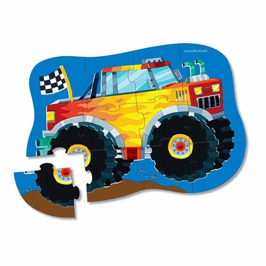 Croc Creek 12Pc Mini Puzzle Monster Truck
