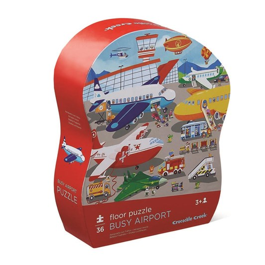 Croc Creek 36Pc Floor Puzzle Busy Airport