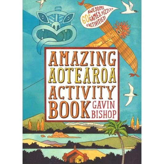 Amazing Aoeteroa Activity Book