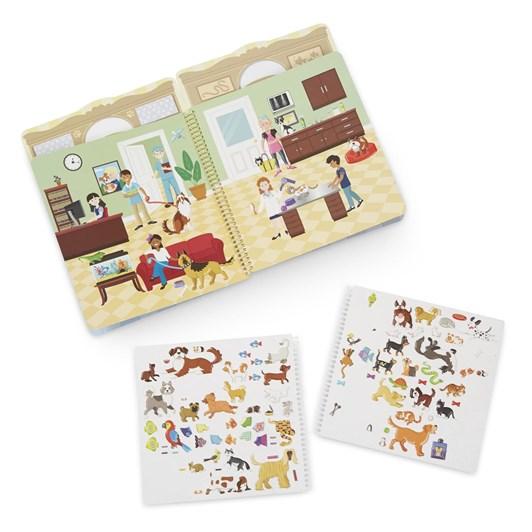 Melissa & Doug Puffy Stickers Album- Pet Place