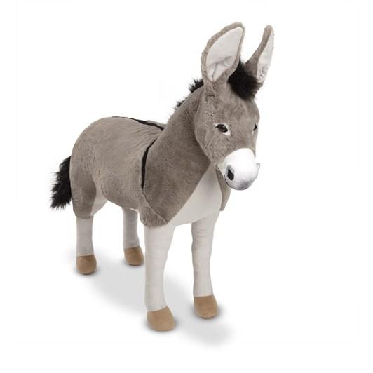 Melissa & Doug Donkey Plush