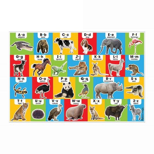 Melissa & Doug Animal Alphabet Floor Puzzle 24Pc
