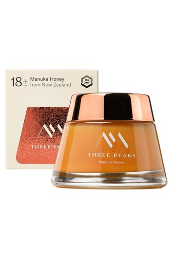 Three Peaks Manuka Honey UMF 18+ 200g