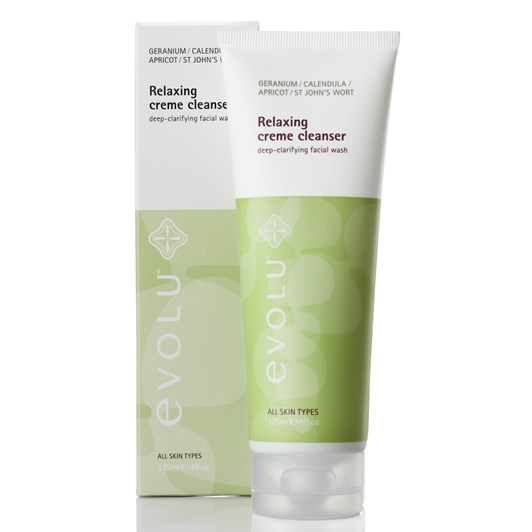 Evolu Relaxing Creme Cleanser 125ml
