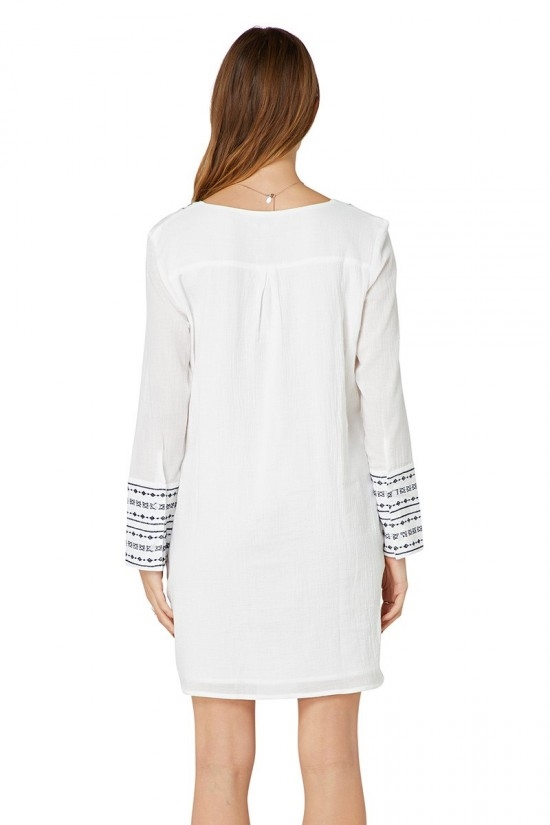 Elwood Mon Dress - white