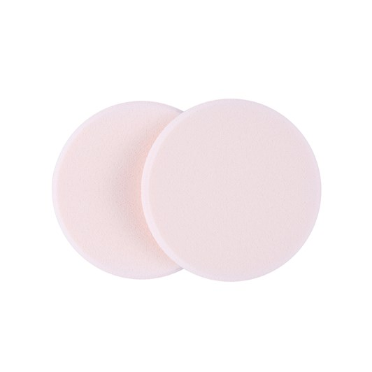 QVS Round Foundation Sponges Pack of 2