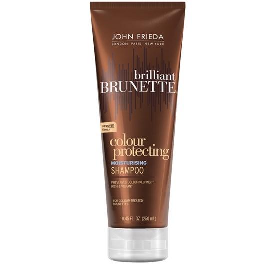 John Frieda Brilliant Brunette Moisturising Shampoo 250ml