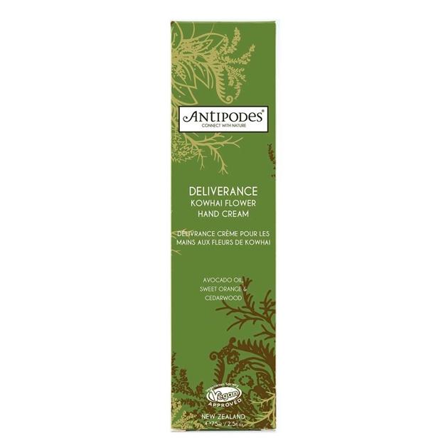 Antipodes Deliverance Kowhai Flower Hand Cream 75ml - na
