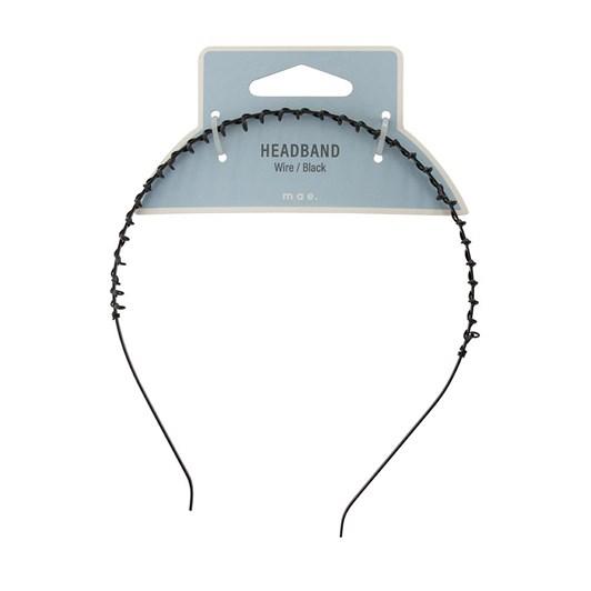 Mae Headband Wire Black