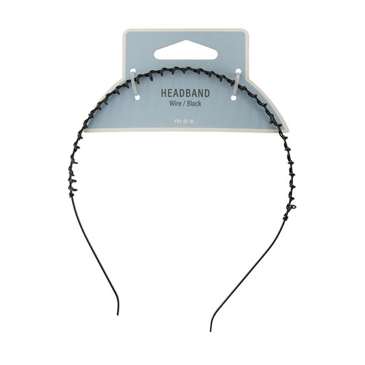 Mae Headband Wire Black