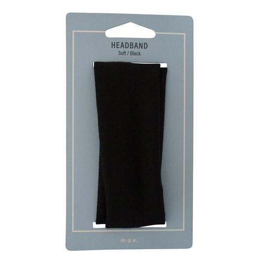 Mae Headband Soft Black