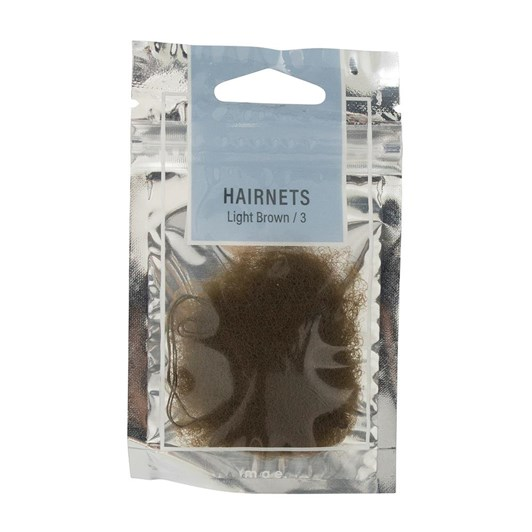 Mae Hairnets Light Brown (3)