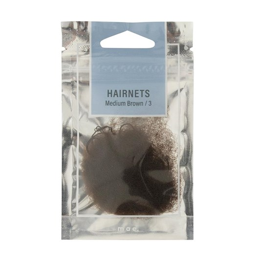 Mae Hairnets Medium Brown (3)