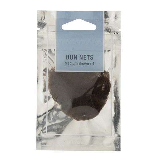 Mae Bun Nets Medium Brown (4)