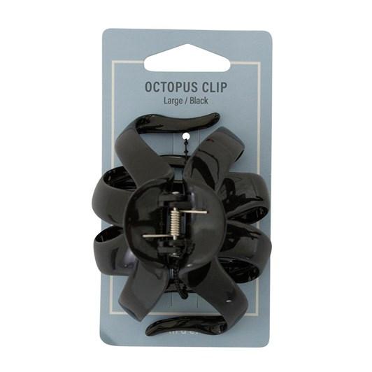Mae Octopus Clip Large Black