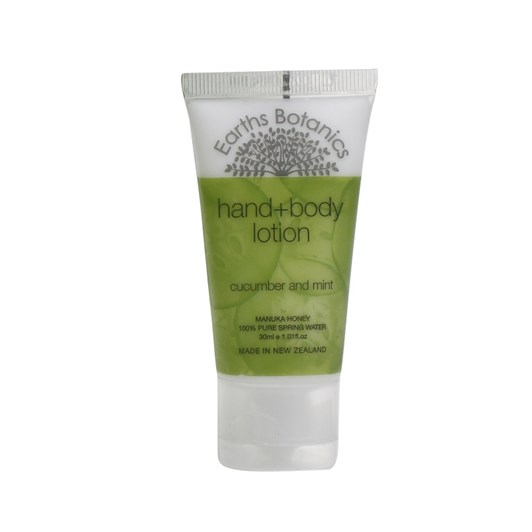 Earth Botanics Cucumber & Mint Hand & Body Lotion 30ml Tube