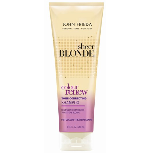 John Frieda Sheer Blonde Colour Renew Toner Shampoo 250ml
