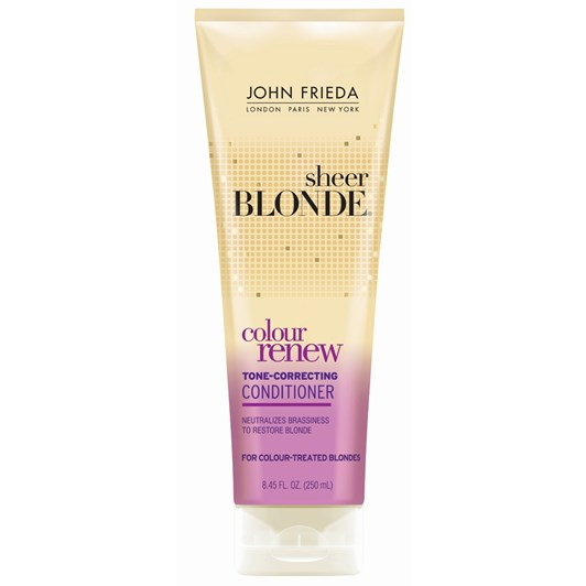 John Frieda Sheer Blonde Colour Renew Toner Conditioner 250ml
