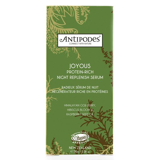 Antipodes Joyous Protein-rich Night Replenish Serum 30ml