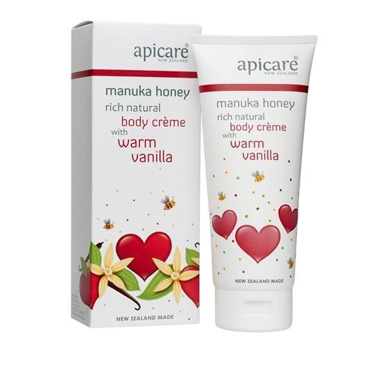 Apicare Warm Vanilla and Manuka Honey Body Creme