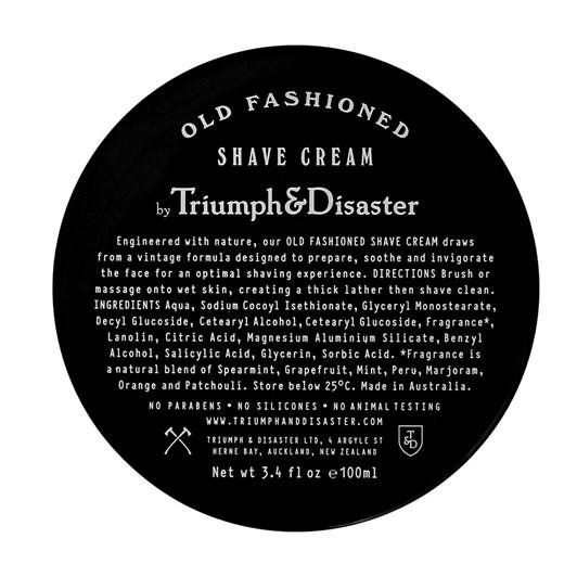Triumph&Disaster Old Fashioned Shave Cream Jar