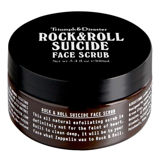 Triumph&Disaster Rock & Roll Suicide Face Scrub 145gm PET Jar