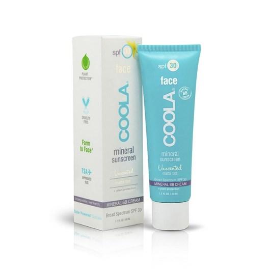 Coola Sunscreen Mineral Face SPF30 Unscented Matte Tint 50ml