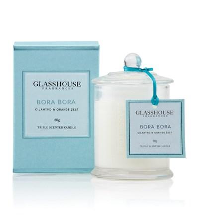 Glasshouse Bora Bora Miniature Triple Scented Candle
