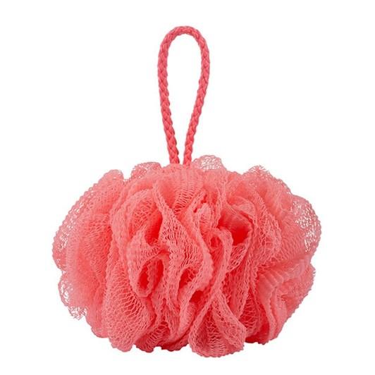 QVS Luxe Bath Sponge Red Sorbet