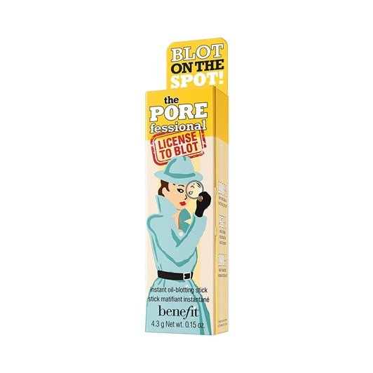 benefit the POREfessional: license to blot