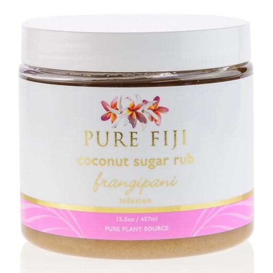 Pure Fiji Sugar Rub Frangipani 457ml