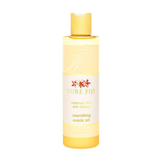 Pure Fiji Exotic Bath & Body Oil Coconut Milk & Honey 240ml