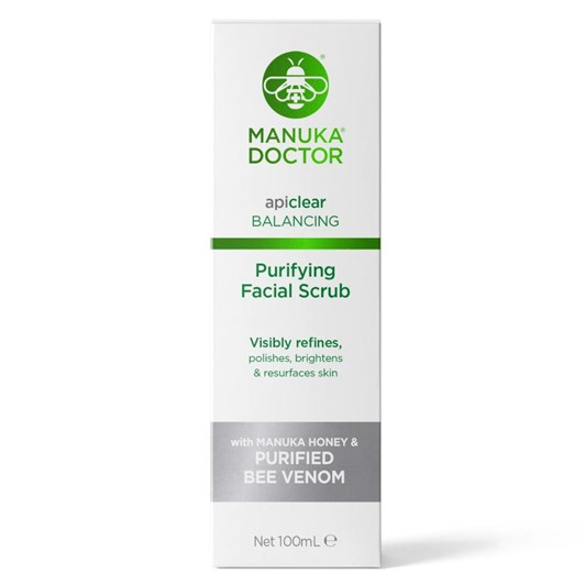 Manuka Doctor api clear Purifying Facial Scrub 100ml