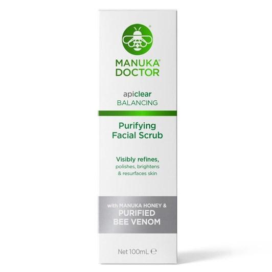 Manuka Doctor api clear Purifying Facial Scrub 100ml