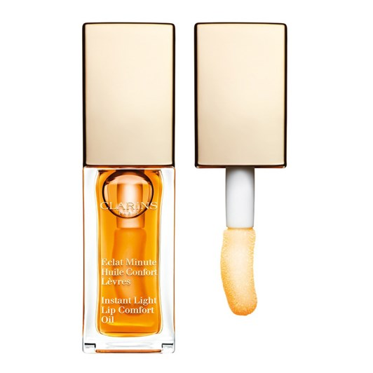Clarins Instant Light Lip Comfort Oil No 1 Honey  7Ml