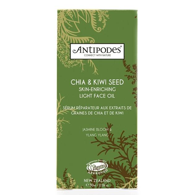 Antipodes Chia & Kiwi Seed Skin-enriching Light Face Oil 30ml - na