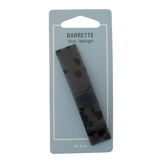 Mae Barrette 7.5cm Midnight